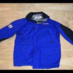 Vintage 3m blue nautica competition jacket